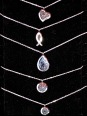 More Aromatherapy necklaces - stainless steel with washable pads included