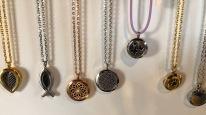 Aromatherapy necklaces